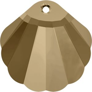 6723 MM 16,0 CRYSTAL GOL.SHADOW (Shell Pendant)