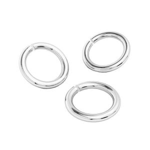 KC-0,80x3,22 - Argent anneaux ouverts