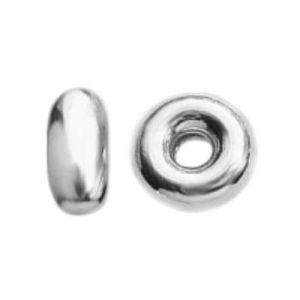 Spacer perle d'arrêt argent  - OPG 2,05x5,5 mm