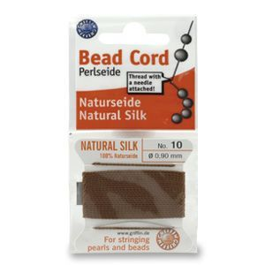 SILKTHREAD 04 - BROWN (0.60 mm, 2.0 m)
