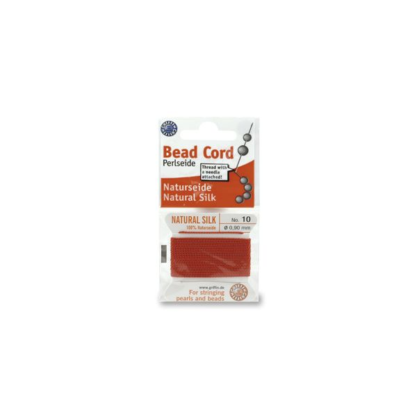 SILKTHREAD 08 - RED (0.80 mm, 2.0 m)