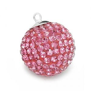 DISCOBALL ROSE 18 MM