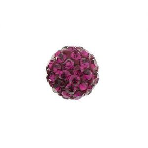 DISCOBALL BEAD FUCHSIA 12 MM