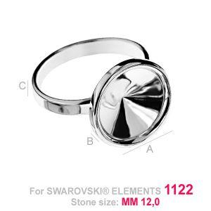 Bague réglable pour Rivoli 12 mm - OKSV 1122 12MM S-RING ver.2