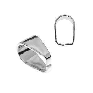 Attache pendentif argent KRW 5 - 0,40 3,5x7 mm