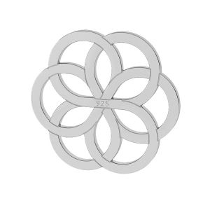 Fleur pendentif - LK-0021 - 10MM