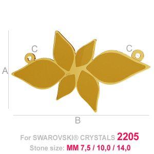Grand pendentif chouette (2205 MM 7,5) - LK-0584