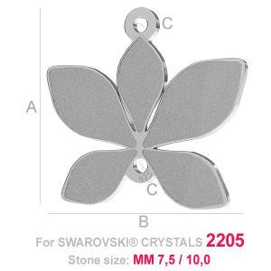 Pendentif feuille (2205) - LK-0584
