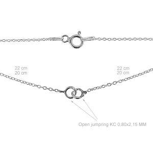 Base de la chaîne pour bracelet - S-CHAIN 8