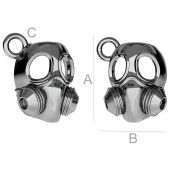 Masque à gaz pendentif ODL-00172