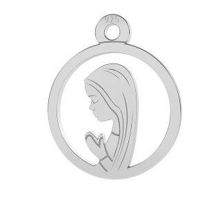 Notre médaillon de dame Fatima - LK-0661 - 0,50