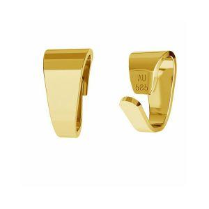 Attache pendentif or 14K or LKZ-00027 KR - 0,30 mm