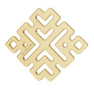 Grec pendentif or 14K or LKZ-00188 - 0,30 mm
