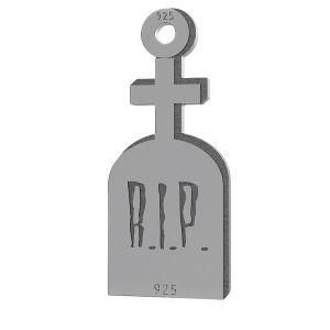 Pierre tombale pendentif, LK-1019 - 0,50