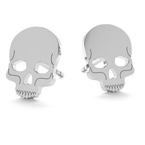 Crâne des boucles d'oreilles,, LK-1023 - 0,50