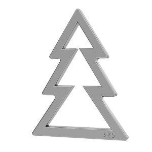 Arbre de Noël pendentif LK-1050 - 0,50