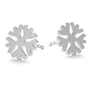 Flocon de neige boucles d'oreilles LK-1074 - 0,50