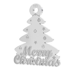 Arbre de Noël pendentif LK-1086 - 0,50