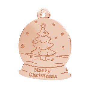 Arbre de Noël pendentif LK-1088 - 0,50