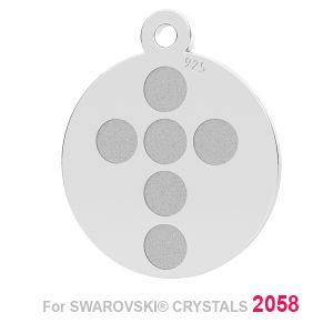 Traverser pendentif (2058 SS 7), LK-1175 - 0,50 ver.1