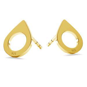 Baisse boucles d'oreilles LK-1210 - 0,50 - KLS
