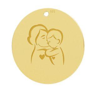 Mère et enfant pendentif, LK-1281 - 0,50