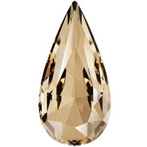 Teardrop Fancy Stone, Swarovski Crystals, 4322 MM 10,0X 5,0 LIGHT COLORADO TOPAZ F