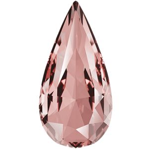 Teardrop Fancy Stone, Swarovski Crystals, 4322 MM 10,0X 5,0 VINTAGE ROSE F