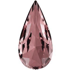 Teardrop Fancy Stone, Swarovski Crystals, 4322 MM 10,0X 5,0 CRYSTAL ANTIQUPINK F