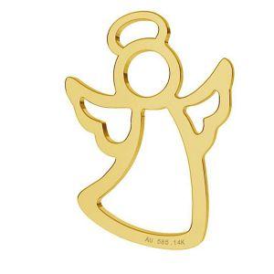 Ange pendentif, or 14K, LKZ-01296 - 0,30