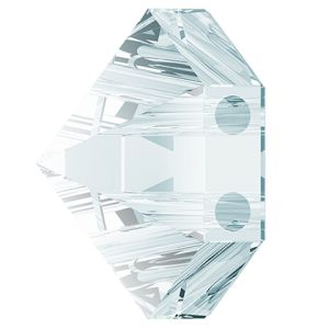 Hexagon Spike Bead, Swarovski Crystals, 5060 MM 7,5 CRYSTAL BLUE SHADE