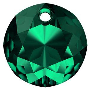 Classic Cut Pendant, Swarovski Crystals, 6430 MM 14,0 EMERALD