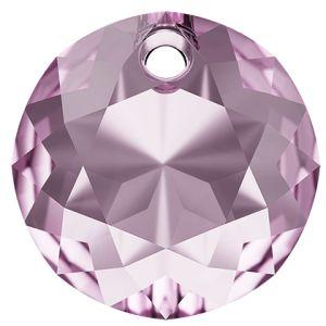 Classic Cut Pendant, Swarovski Crystals, 6430 MM 14,0 LIGHT AMETHYST