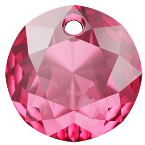 Classic Cut Pendant, Swarovski Crystals, 6430 MM 14,0 ROSE
