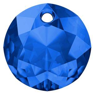 Classic Cut Pendant, Swarovski Crystals, 6430 MM 14,0 SAPPHIRE