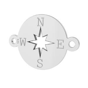 Boussole pendentif, LK-1318 - 0,50