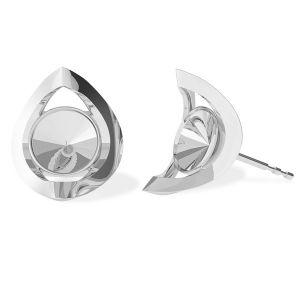 Rond boucle d'oreille, ODL-00360 KLS (1122 SS 29)