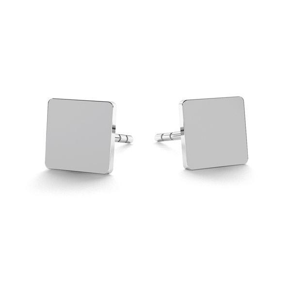 Diamant boucles d'oreilles, argent 925, LK-0617 KLS - 0,50