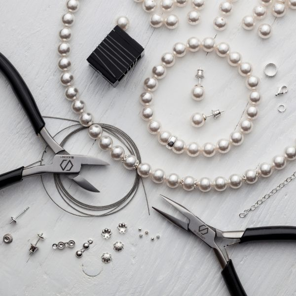 DIY bracelet, argent 925, Swarovski, DIY with SILVEXCRAFT NO.02003