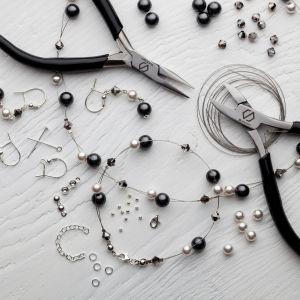 DIY bracelet, argent 925, Swarovski, DIY with SILVEXCRAFT NO.02004