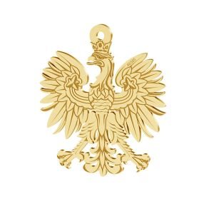 Trèfle pendentif or 14K or LKZ-00471 - 0,30