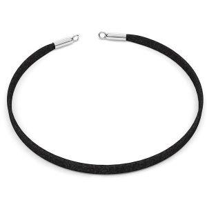 Choker base de collier Alcantara S-CHAIN 25 - 36 cm