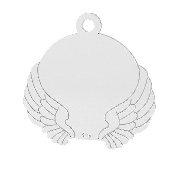 Ailes pendentif, argent, LK-1469 - 0,50