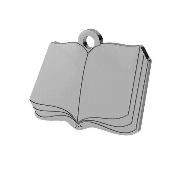 Livre pendentif, argent, LK-1470 - 0,50