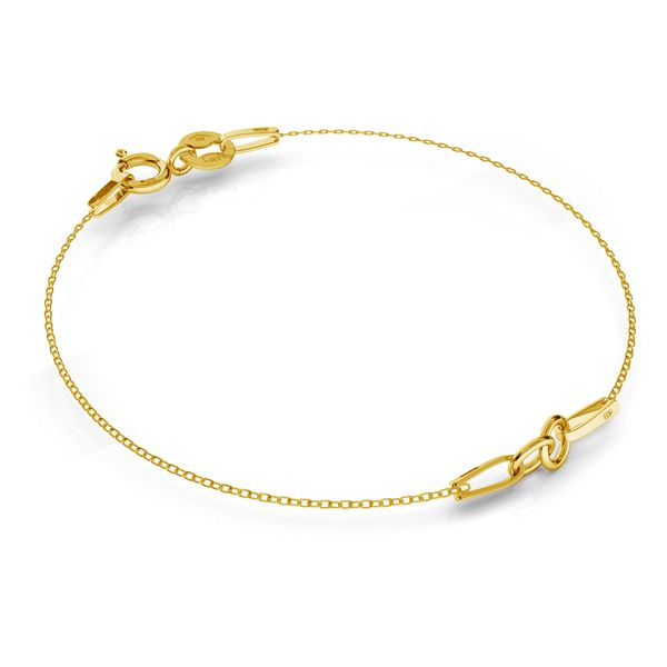 Bracelet base SG-BRACELET 2 - (7+7 cm) AU 585 14K