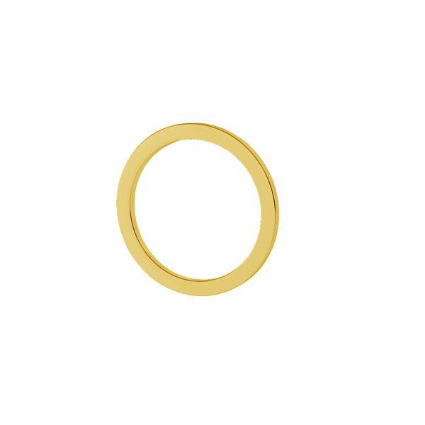 Cercle ouvert pendentif 11mm, argent 925, LK-1501 - 0,40