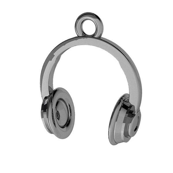 Ecouteurs pendentif, argent, ODL-00411