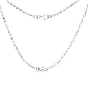 Base de la chaîne pour bracelet, S-CHAIN 29 (ROLO OVAL 0,35X0,60)