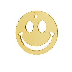 Sourire pendentif argent 925, LKM-2025