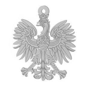 Aigle pendentif argent 925, LKM-2041